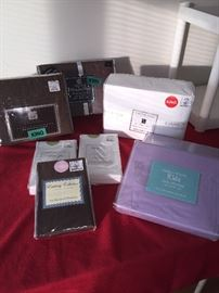 Sample of some of the NIP linens