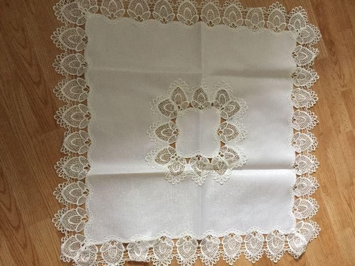 small square tablecloth