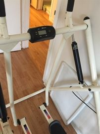 Folding Air Walker Glider Fitness Exercise Machine