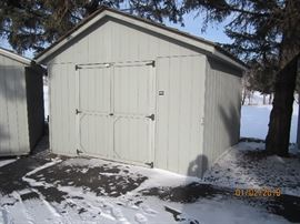 12' x 12' sheds (5 of them)