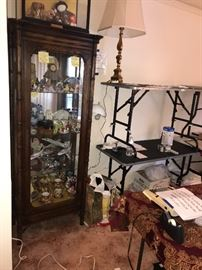 No 1 locked china cabinet