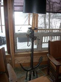 Anchor floor lamp