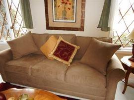 Richard Honquest of Barrington Over Stuffed Sofa