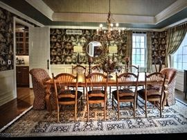 Ethan Allen Dining room and chairs