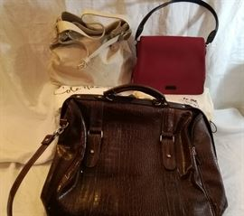 Cole Haan and Donna Karan Designer Purses, plus Overnight Bag http://www.ctonlineauctions.com/detail.asp?id=678224