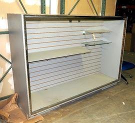 """Display Case, Glass Top, No Doors, 53.5""""H x 74""""W x 22""""D"""