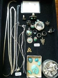 STERLING JEWELRY & TURQUOISE