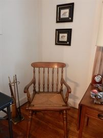 Nice Hitchcock Style Side Chair