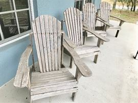 3FURNITUREAdirondackChairs