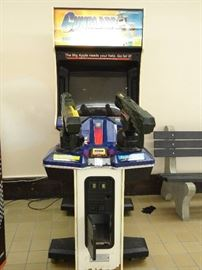 Sega Gunblade Special Assault Force Arcade Game