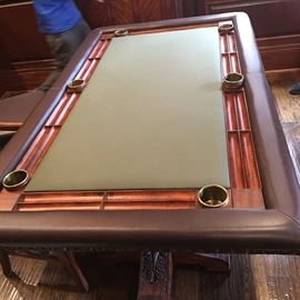 Barcelona Elite Poker / Game  Table - Gorgeous