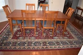 Ethan Allen Cherry dining room set SOLD on line prior to the ONE day!