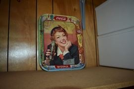 Vintage 1950s Original Coca Cola Advertising Tray