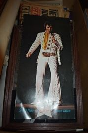 Elvis Concert Brochure ( the only way you could get this one is by attending the concert )The Box that this is in contains many Elvis Pictures, Newspapers, Magazines, Photos, Posters and More!!!