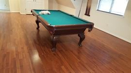 OLHAUSEN pool table, perfect!!