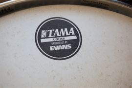 Assorted Tama drums