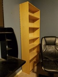 Standing bookcase