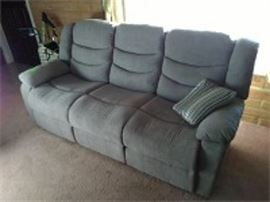NEW Double Recliner Couch