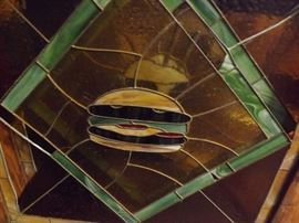 stained glass windows from the tore down Bee Gees Restaurant in CP