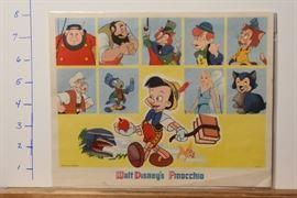 Walt Disney Pinocchio Looks by Card