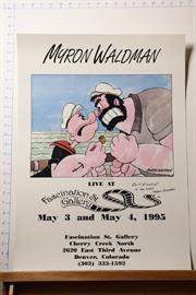 Myron Waldman Live at Fascination St Gallery poster
