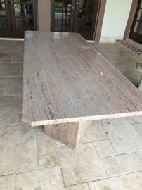 Granite Outside Table