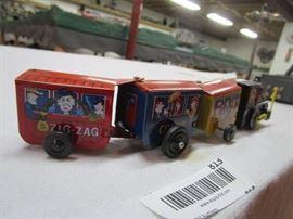 Wind Up Small Tin Train