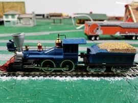 HO Scale Steam Engine Fully Functioning See Video