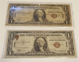 HCC065 1935A Hawaii Emergency Silver Certificates
