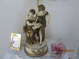 Elegant European Figurines  Condition : all pristine!