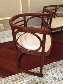 "19. Josef Hoffman by Thonet Art Deco Bentwood Settee (50"" x 21"" x 30"")"
