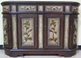 Nice painted credenza
