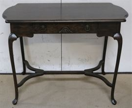 Cabriole leg library table