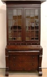 Period 19th cent. secretary bookcase