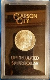 1884 Carson City uncirculated