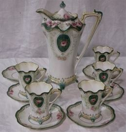 Array of fine porcelains