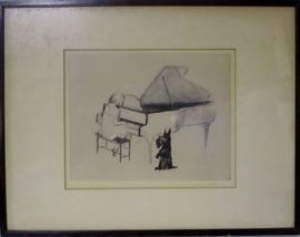 Margery Ryerson lithograph My Bonnie