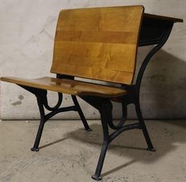 Vintage school desk