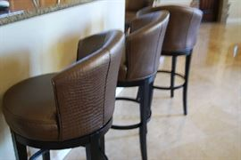 5 Bar Stools  (priced individually)