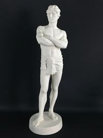 Gustavsberg Porcelain Statue