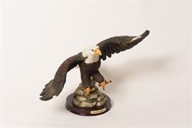 "10"" Ceramic Eagle Figurine"