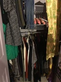 vintage and newer clothing