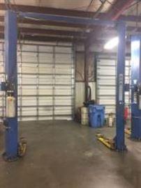 Ben Pearson Asymmetrical 9000 lb. automotive lift.
