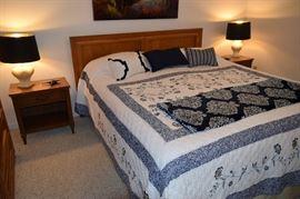 Thomasville Mid Century Modern King Bed