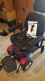 Titan X16 Front-wheel Power Wheelchair