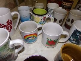 Still more Mugs and cups