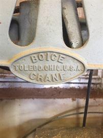 Vintage BoIce Crane