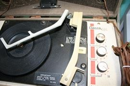 Vintage Decca Anniversary record player