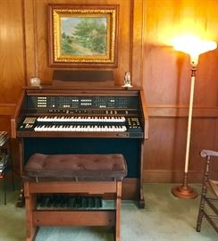 Baldwin's Symphony Organ and Bench
