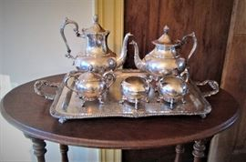 Silver Service (Old Silver on Copper)